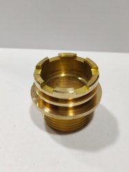 Goden Brass Male Connector, BSP, Size: 1inch