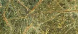 Rainforest Green Granite Slab, Thickness: 18mm