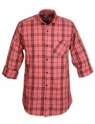 goldenfiber Cottton Check Shirts, Size: M To Xl