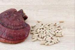 Ganoderma Boost Energy Reishi Mushroom Capsules, Packaging Type: 60 Vegicaps In 1 Box