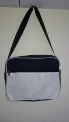 Plain Black tution classes bag, For College