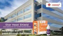 Reflective Sun Control Glass Coating- Star Heat Shield