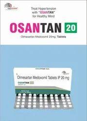 Olmesartan Medoxomil 20 Mg Tablets