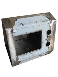 Stainless Steel Rectangular 304 SS LED Panel Box, For Pharma Industries, Dimension: 250 X 450 mm