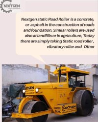 Construction Road Roller