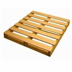 Rubber Wood Wooden Pallets
