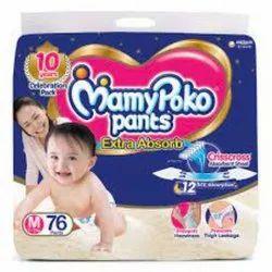 Cotton Cloth Diaper Mammy Poko Pant Large, Size: Medium