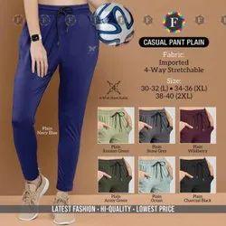 100% Cotton Unisex Jazzika Women Wear Casual Pant