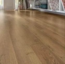 Fiberboard Brown Kronotex Wooden Flooring, For Residential, Thickness: 8mm