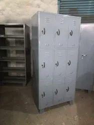 Steel 9 Door Industrial Locker