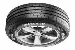 Rubber Apollo Amazer 4G Life 185/70 R14 82T Tubeless Car Tyre