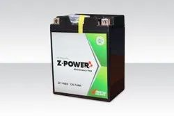 Z-Power Bike Battery, Capacity: 2.5 to 12 Ah