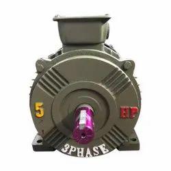 5 Star 5 HP Heavy Three Phase Box Die Cutting Machine Motor