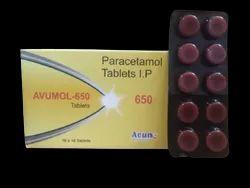 Avumol-650 Paracetamol 650 Mg  10x10