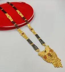 Gold Plated Mangalsutra Set