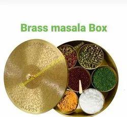 Brass Masala Box