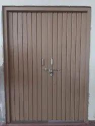 Iron Light Brown Door