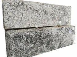 Polished Alaska White Granite Slab, For Flooring, Thickness: 20 mm