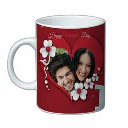 Ceramic Printed Mugs, For anywhere, Size/Dimension: Standard