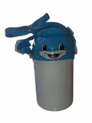 Plastic Baby Sipper Bottle, For Water Storage, Capacity: 350ml