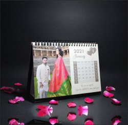 1-2 Day Personalized Couple Calendar Printing Service, in Local
