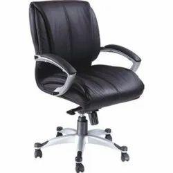 Medium Back Director Leather Chair