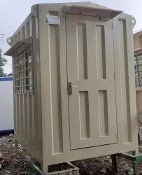 Portable Gi Security Cabin