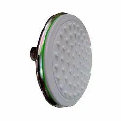 4 inches Round White Patina Shower