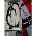 Double Sided Dual Head Stethoscope, Aluminium, Tunable