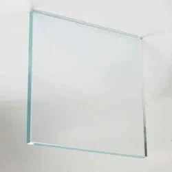 Toughened Glass, Size: 100 sq ft, Shape: Flat