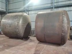 Horizontal Pressure Sand Filter, For Industrial, 500-3600