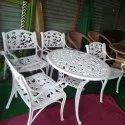 Sbh Cast Iron Garden Table Chair Set