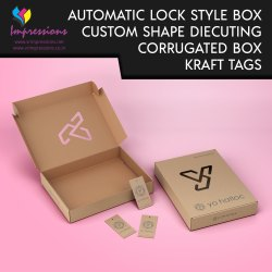 Custom Shape Cut Packaging Boxes