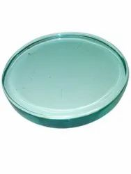 Transparent Round Sight Toughened Glass, Thickness: 50 Mm, Size: 150 Mm