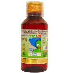 Ascoril Sugar Free Dry Cough Syrup, 100 ml