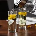 Transparent Glass Water Glasses Set, Set Of 6, 245 Ml Each (d60138), For Home