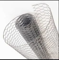 GALVANIZE Hexagonal Chicken Wire Mesh, For Fencing, Thickness: 0.5mm