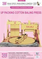 Up Packing Cotton Baling Press