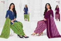 Pranjal A-Line Pranjul Cotton Readymade Dress Suit, Handwash