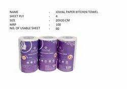 Non Woven Jovial Paper Kitchen Towel, Size: 20x20cm