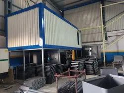 Conveyor Type Powder Curing Oven