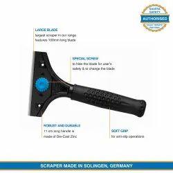 Industrial Safe Scraper Tool with Retractable Blade - Martor Scrapex 596 by Saurya