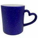 Sparkle Heart Handle Magic Mug
