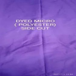 Dyed Micro Polyester Side Cut Waste Cloth