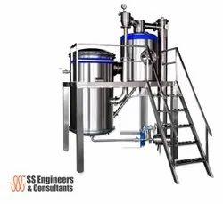 Milk Evaporation Unit