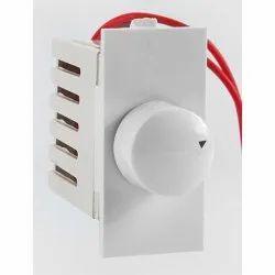 White Reo PVC Fan Regulator