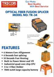 Tricom Optical Fiber Fusion Splicer TR-34
