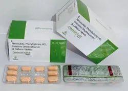 Nimesulide Phenylephrine HCL Cetrizine Dihydrochloride Caffeine Tablets