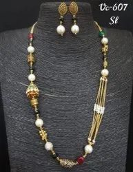 Golden Mala Sets, Occasion: Party, Size: Free