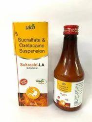 Sucralfate and Oxetacaine Suspension